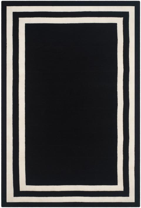 Rug RLR4151A Fitzgerald Border - Ralph Lauren Area Rugs by Safavieh
